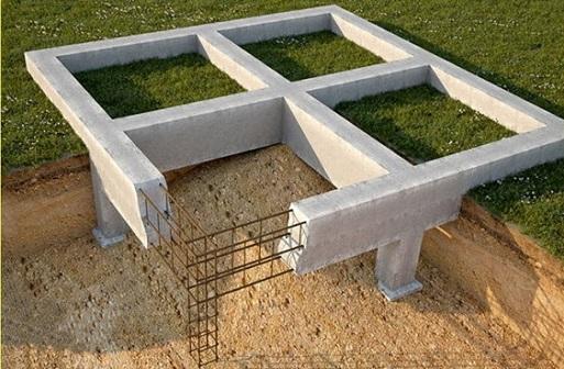 Статья фундамент для дома дом